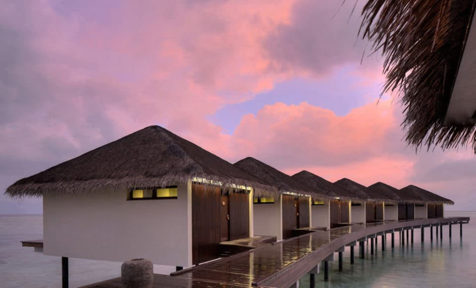 Overwater Spa Pavilions