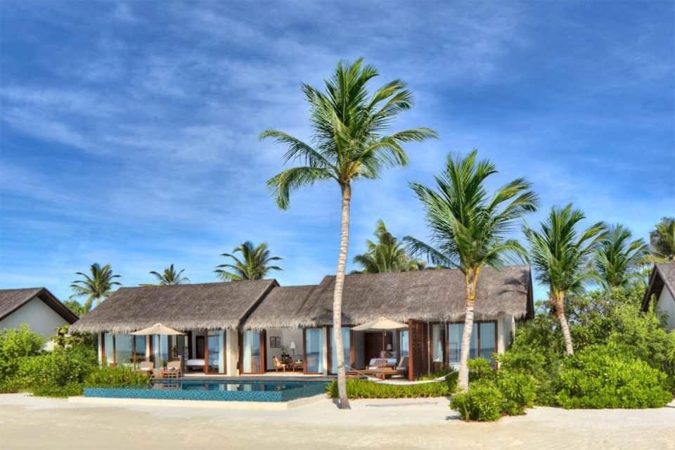 two bedroom beach pool villa