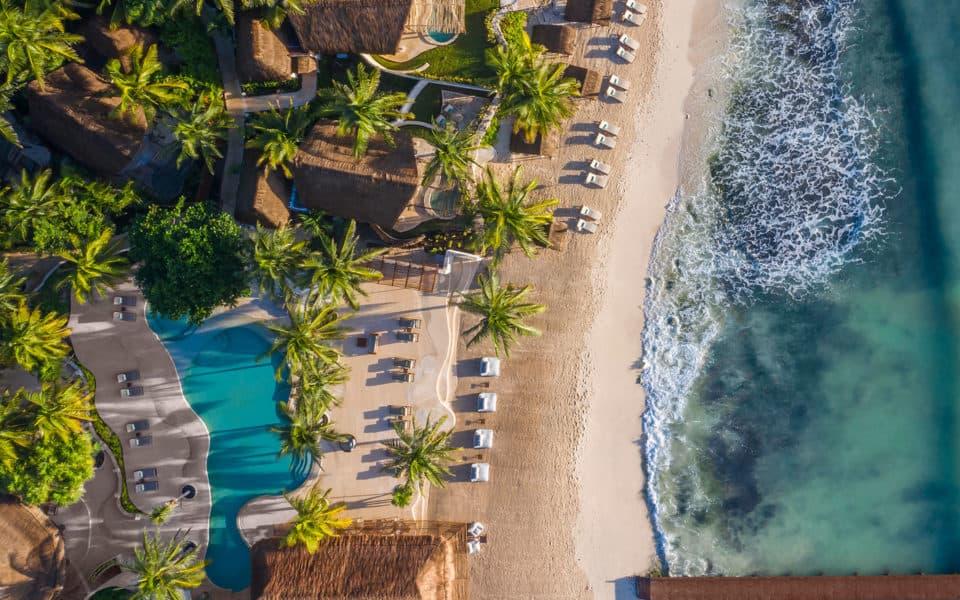 Viceroy Riviera Maya Aerial