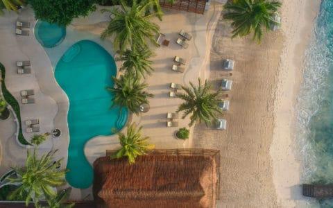 Viceroy Riviera Maya Aerial Pool