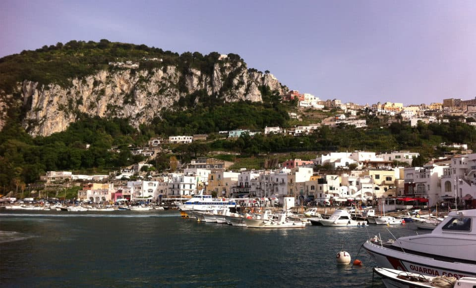 Capri Palace Hotel View