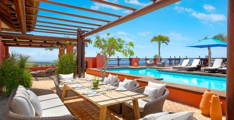 The Ritz-Carlton Abama Imperial Suite Pool