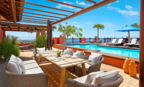 The Ritz-Carlton Abama Imperial Suite Outdoor Pool Terrace