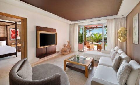 The Ritz-Carlton Abama One Bedroom Suite Villas Living Room