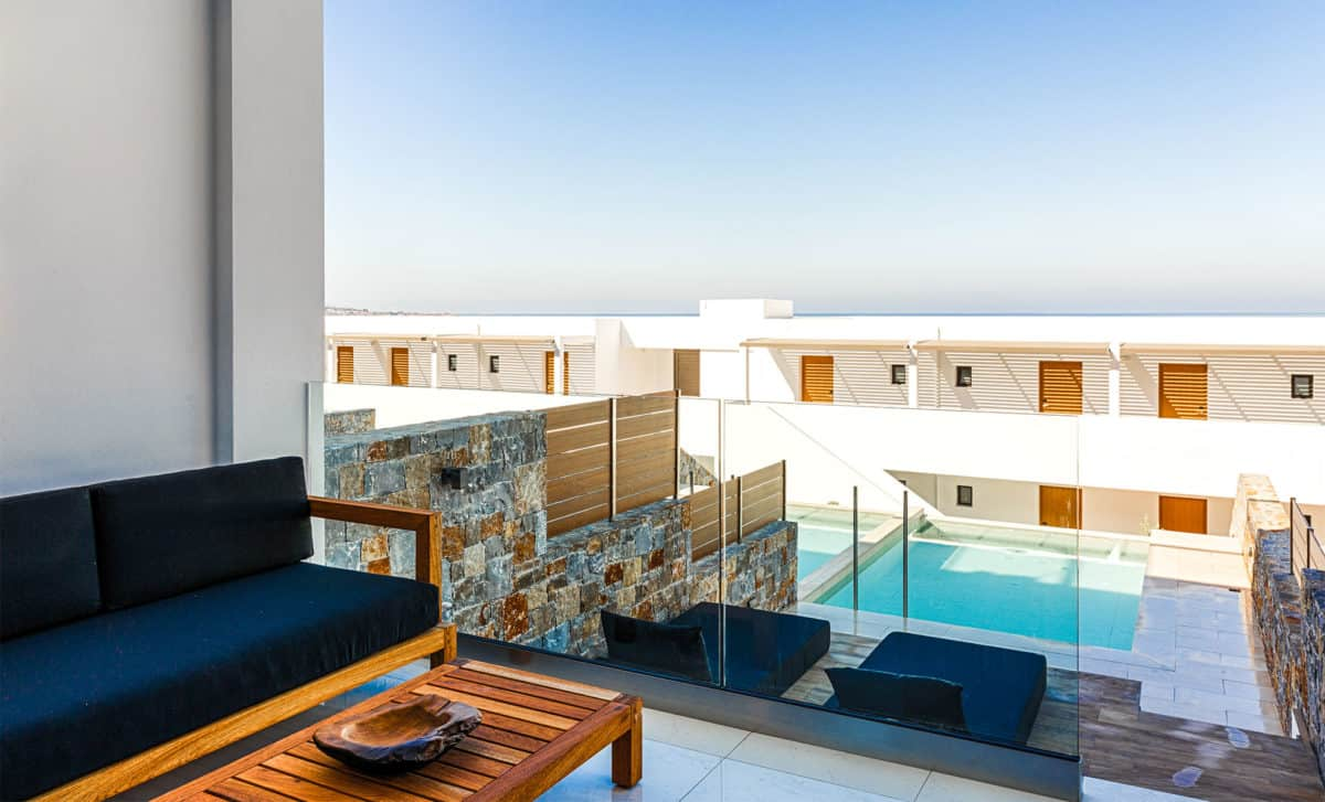 Abaton collection Suite with Private Pool