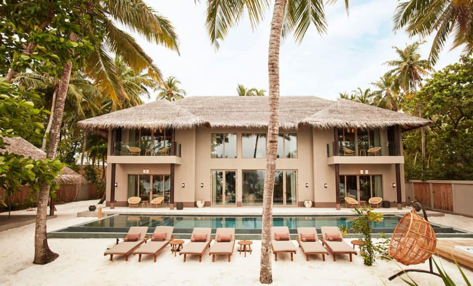 Joali Maldives Family Beach Villa with Pool