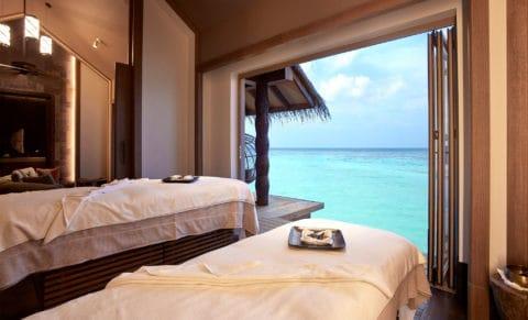 Joali Maldives Overwater Treatment Room
