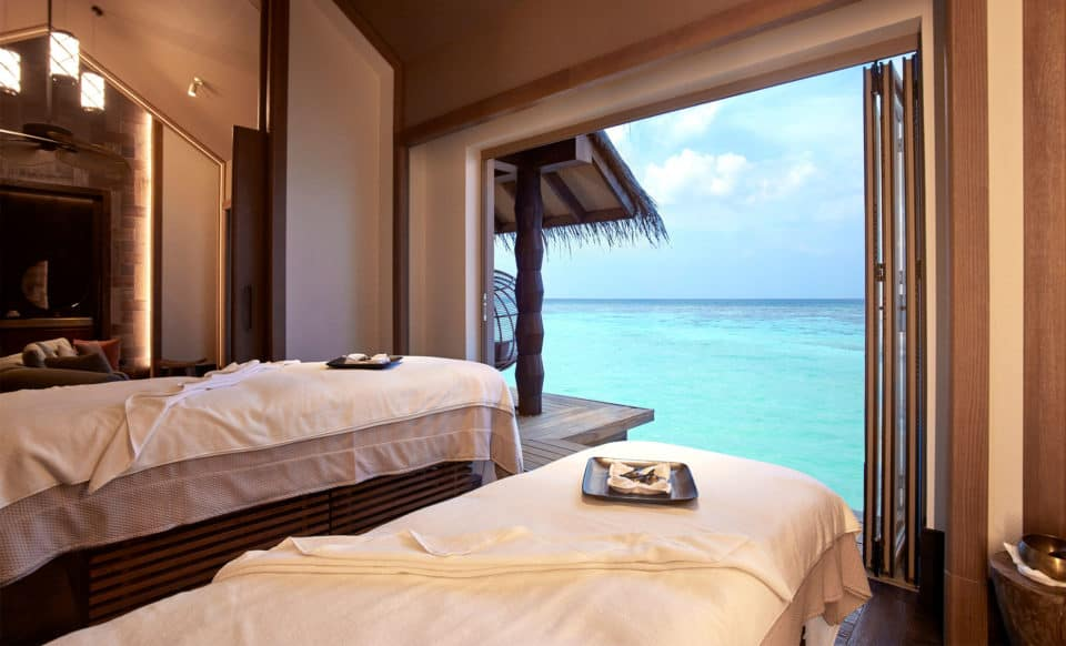 Joali Maldives Overwater Treatment Room