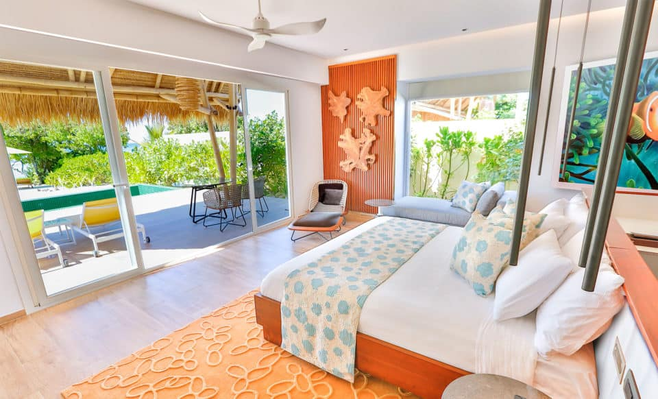 Emerald Maldives Beach Villa Room