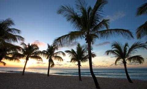 Galley Bay Resort & Spa Beach Sunset