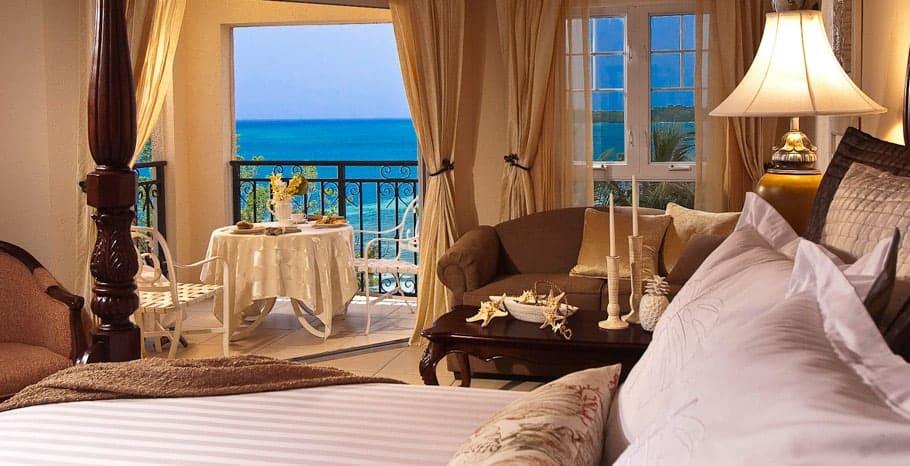 Sandals South Coast Beachfront Penthouse Club Level Suite