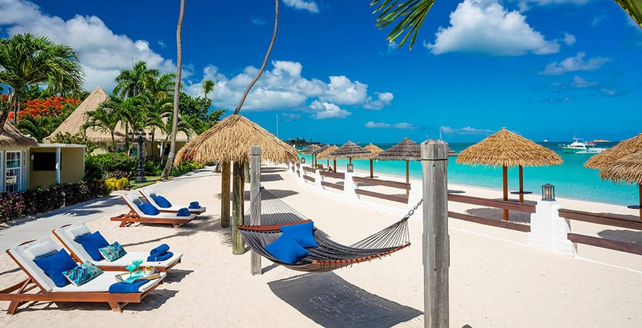 Sandals Grande Antigua Caribbean Beachfront Butler Rondoval