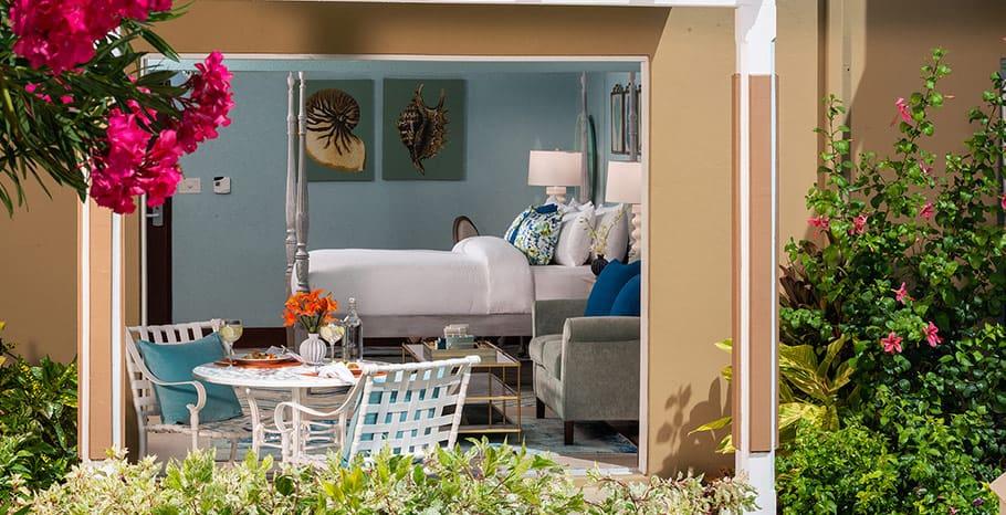 Sandals Grande Antigua Caribbean Beachfront Grande Luxe Walkout Club Level Room