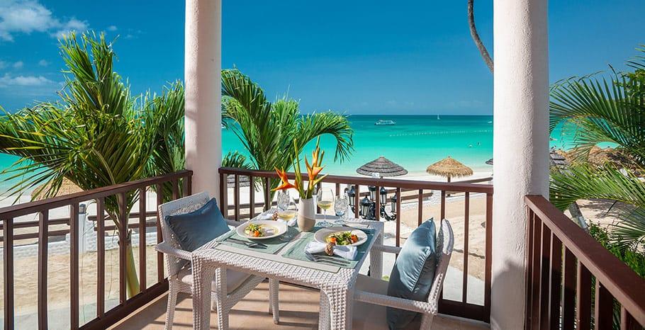 Sandals Grande Antigua Caribbean Honeymoon Beachfront Butler Suite