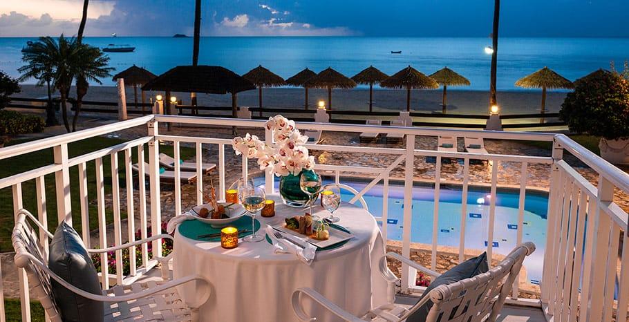 Sandals Grande Antigua Caribbean Honeymoon Beachfront Grande Luxe Club Level Room