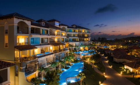 Sandals Grenada Resort & Spa at Night