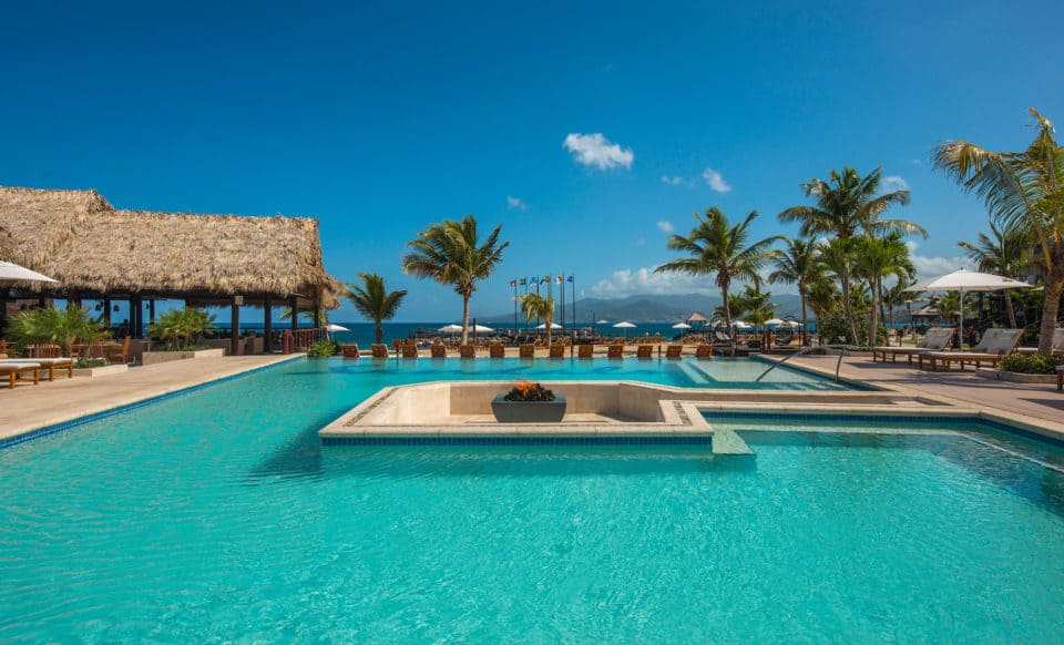 Sandals Grenada Resort & Spa Pool