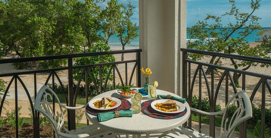 Sandals South Coast Italian Beachfront Club Level Junior Suite