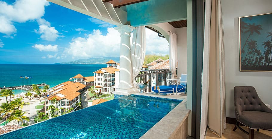 Italian Oceanview PH. 1 Br. SkyPool Butler Suite w Soaking Tub