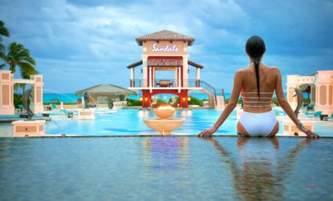 Sandals Emerald Bay Main Pool