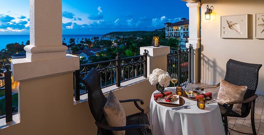 Sandals Grande Antigua Mediterranean Honeymoon Romeo Juliet Penthouse One Bed Butler