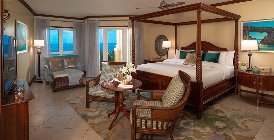 Sandals Grande Antigua Mediterranean Oceanview Grande Luxe Club Level Suite