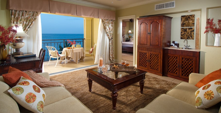 Sandals South Coast Penthouse Beachfront One Bedroom Butler Suite
