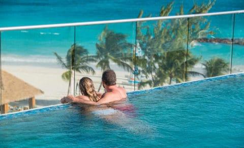 Sandals Royal Barbados Infinity Pool