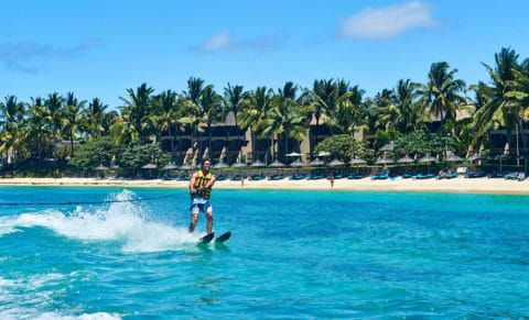 Constance Belle Mare Plage Water Sports Skiing