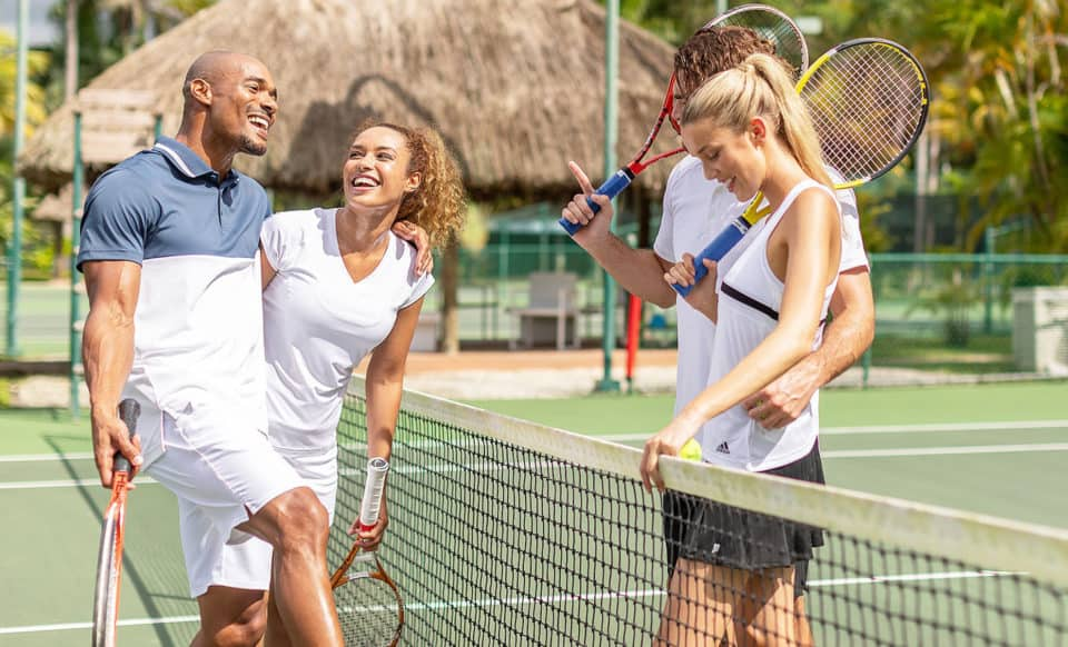 Couples Swept Away Jamaica Tennis