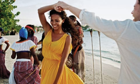 Couples Swept Away Jamaica Beach