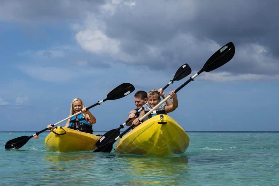 Waves Resort & Spa Canoeing