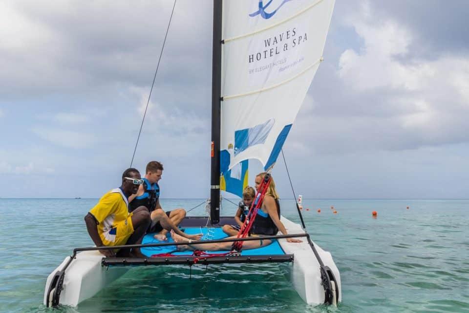 Waves Resort & Spa Sailing