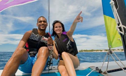 Turtle Beach Barbados Sailing