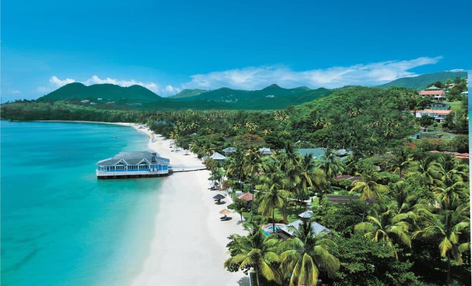 Sandals Halcyon Beach St Lucia