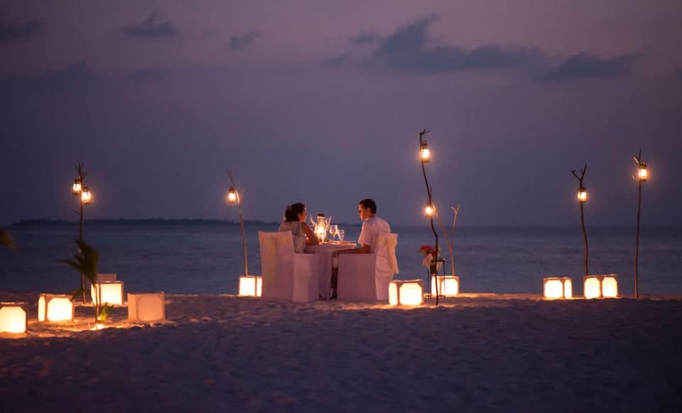 Coco Palm Dhuni Kolhu Beach Dinner