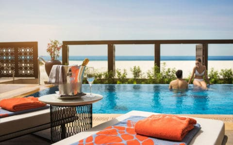Saadiyat Rotana Resort 2 Bedroom Beachfront Villa Private Pool