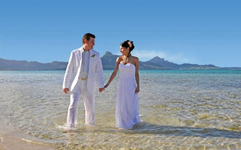 Preskil Beach Resort Wedding Honeymoon