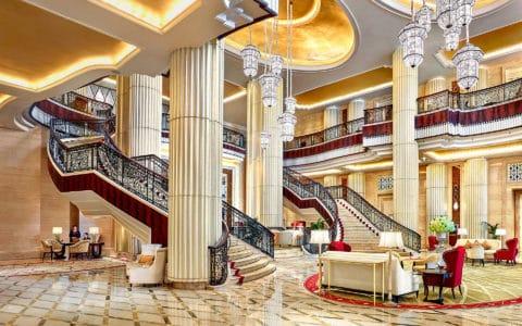 The St. Regis Abu Dhabi Lobby