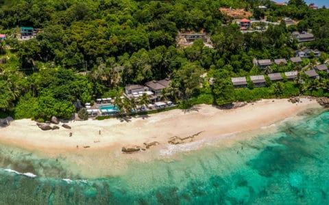 Carana Beach Hotel Aerial