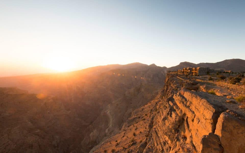 Alila-Jabal-Akhdar-Sunset