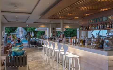 Carana Beach Hotel Bar by Night