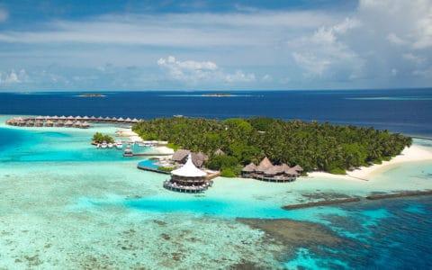 Baros Maldives Aerial