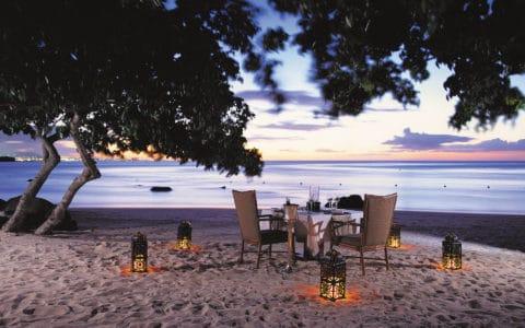 The Oberoi Beach Resort Beach Dinner