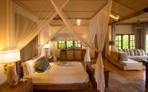 Denis Private Island Bedroom Beach Villa