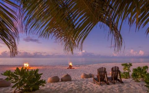 Denis Private Island Creole Night Beach