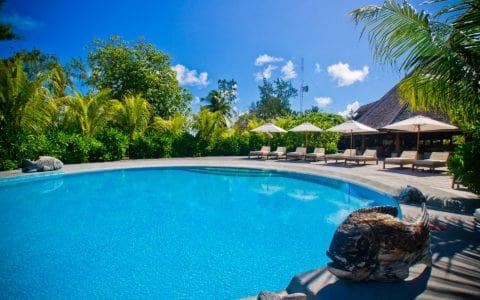 Denis Private Island Pool