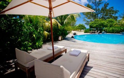 Denis Private Island Sunbeds