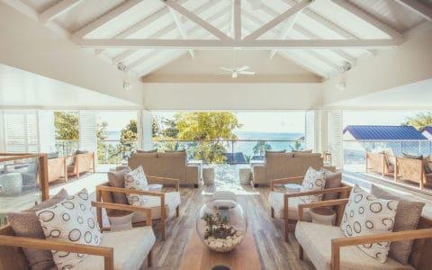 Carana Beach Hotel Interior of Lobby