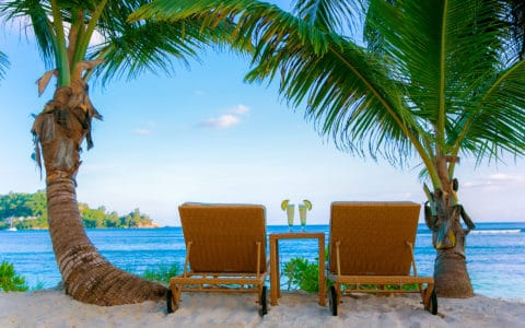 Kempinski-Seychelles Beach Chairs